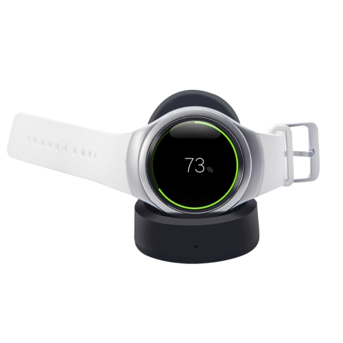 QI Standard Appropriative Wireless Charger Dock Pad for Samsung Gear S2, Black