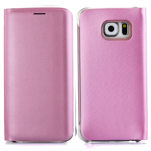 Buy For Samsung Galaxy S6 Edge / G9250 Horizontal Flip Leather Case with Card Slots, Pink for $2.43 in SUNSKY store