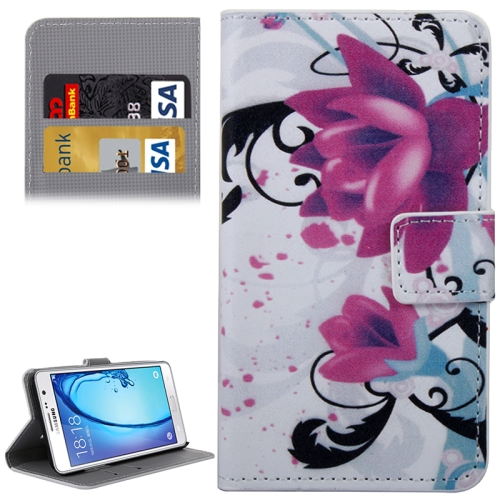 Buy Rose Flowers Patterns Horizontal Flip Leather Case with Holder & Card Slots & Wallet for Samsung Galaxy On5 / G550 for $2.30 in SUNSKY store