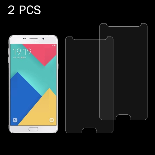 Buy 2 PCS for Samsung Galaxy A9 / A900 & A9 PRO 0.26mm 9H Surface Hardness 2.5D Explosion-proof Tempered Glass Screen Film for $1.16 in SUNSKY store