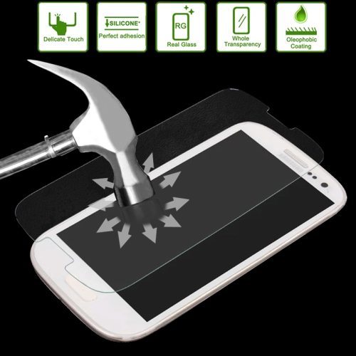 Buy Link Dream 0.33mm 2.5D Premium Tempered Glass Film Screen Protector for Samsung Galaxy SIII / i9300, With Mobile Phone Holder for $1.45 in SUNSKY store