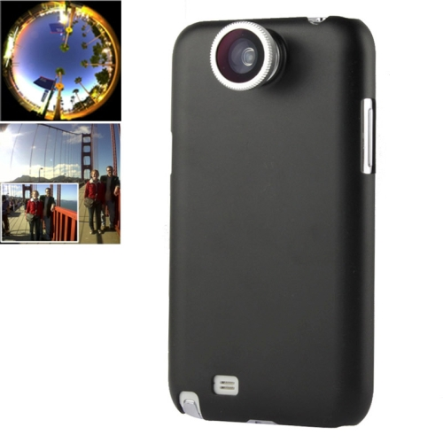 Buy 180 Degree Fisheye Lens + 0.67X Wide Lens + Macro Lens + Plastic Case for Samsung Galaxy Note II / N7100, Silver for $2.66 in SUNSKY store