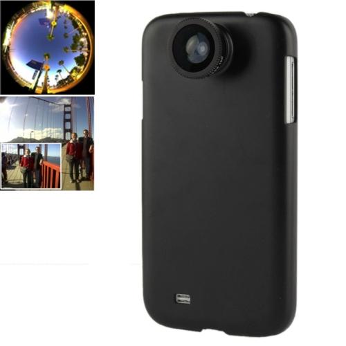 Buy 180 Degree Fisheye Lens + 0.67X Wide Lens + Macro Lens + Plastic Case for Samsung Galaxy S IV / i9500, Black for $2.67 in SUNSKY store