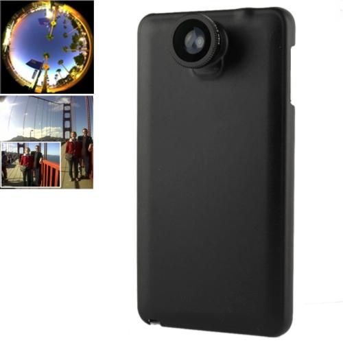 Buy 180 Degree Fisheye Lens + 0.67X Wide Lens + Macro Lens + Plastic Case for Samsung Galaxy Note III / N9000, Black for $2.66 in SUNSKY store