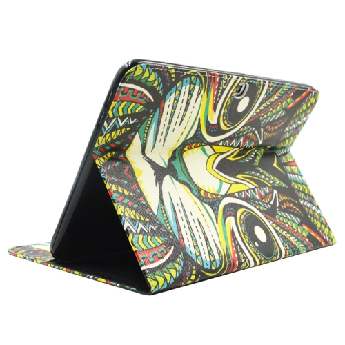 Buy Cat Pattern Leather Case with Holder & Card Slots & Wallet for Samsung Galaxy Tab 4 10.1 / T530 for $5.86 in SUNSKY store