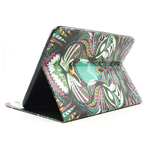Buy Tiger Pattern Leather Case with Holder & Card Slots & Wallet for Samsung Galaxy Tab 4 10.1 / T530 for $5.86 in SUNSKY store