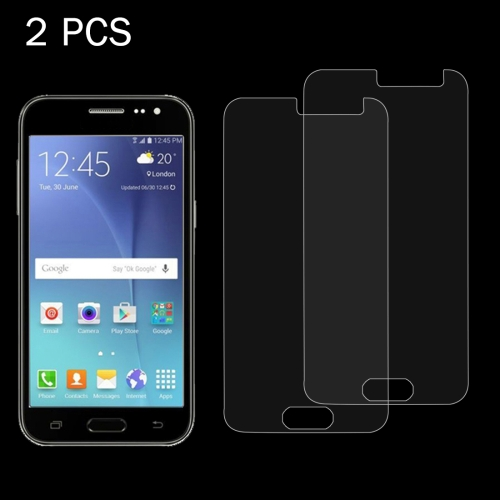 Buy 2 PCS for Samsung Galaxy J2 / J200 0.26mm 9H Surface Hardness 2.5D Explosion-proof Tempered Glass Screen Film for $1.17 in SUNSKY store