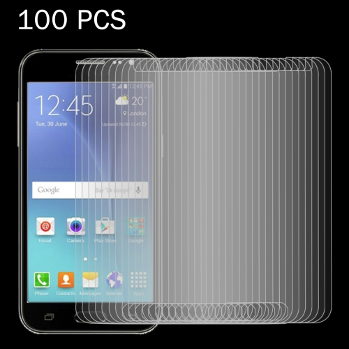 Buy 100 PCS for Samsung Galaxy J2 / J200 0.26mm 9H Surface Hardness 2.5D Explosion-proof Tempered Glass Screen Film for $27.76 in SUNSKY store