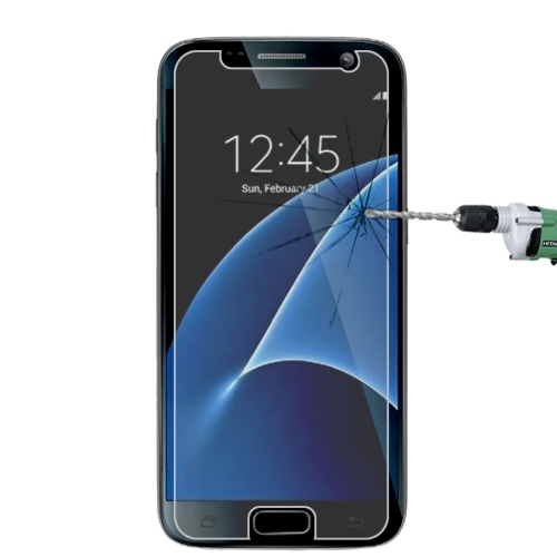 For Galaxy S7 / G930 0.26mm 9H Surface Hardness 2.5D Explosion-proof Tempered Glass Non-full Screen Film