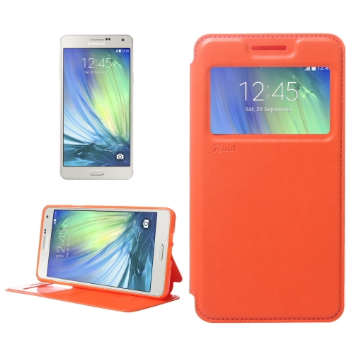 Buy Crazy Horse Texture Horizontal Flip Leather Case with Card Slots & Call Display ID & Holder for Samsung Galaxy A7, Orange for $3.88 in SUNSKY store