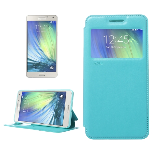 Buy Crazy Horse Texture Horizontal Flip Leather Case with Card Slots & Call Display ID & Holder for Samsung Galaxy A7, Blue for $3.88 in SUNSKY store