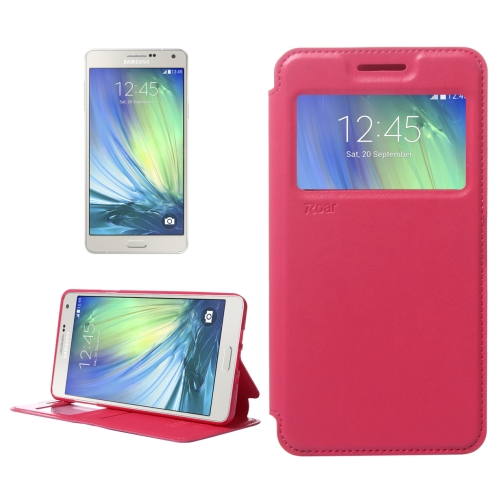 Buy Crazy Horse Texture Horizontal Flip Leather Case with Card Slots & Call Display ID & Holder for Samsung Galaxy A7, Red for $3.88 in SUNSKY store