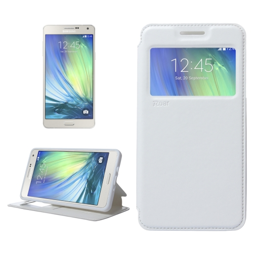 Buy Crazy Horse Texture Horizontal Flip Leather Case with Card Slots & Call Display ID & Holder for Samsung Galaxy A7, White for $3.88 in SUNSKY store
