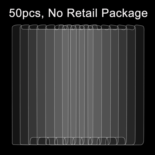 50 PCS for Samsung Galaxy S6 Edge / G925 0.26mm 9H Surface Hardness 2.5D Explosion-proof Non-full Screen Tempered Glass Film, No Retail Package