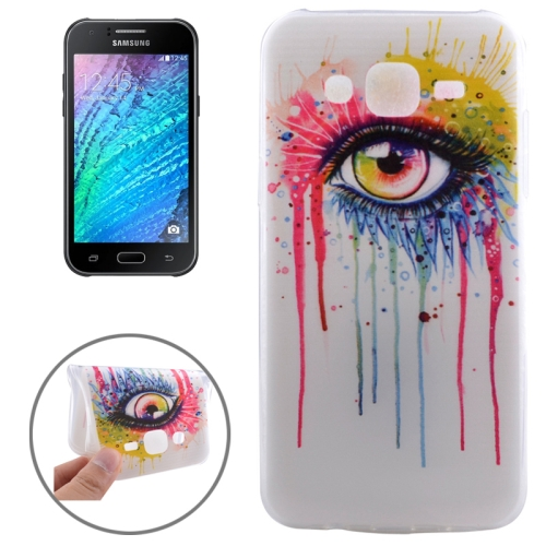 Buy Ultrathin Eye Pattern TPU Protective Case for Samsung Galaxy J5 for $1.16 in SUNSKY store
