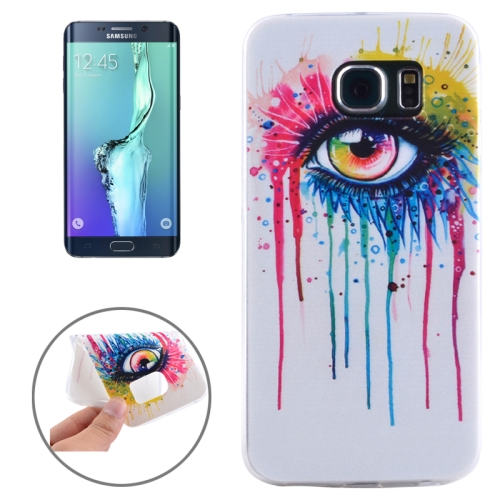 Buy For Samsung Galaxy S6 Edge+ / G928 Ultrathin Eye Pattern TPU Protective Case for $1.16 in SUNSKY store