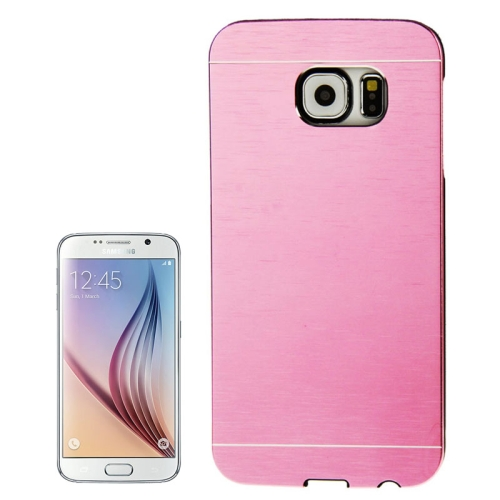 Buy For Samsung Galaxy S6 / G920 Brushed Texture Protective Case, Pink for $1.28 in SUNSKY store