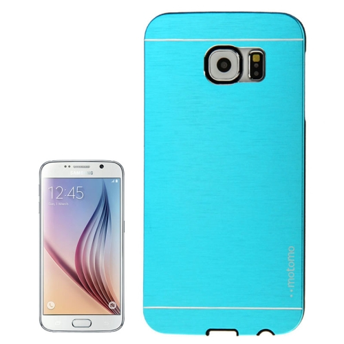 Buy For Samsung Galaxy S6 / G920 Brushed Texture Protective Case, Blue for $1.28 in SUNSKY store