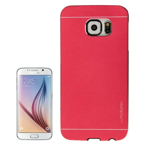 Buy For Samsung Galaxy S6 / G920 Brushed Texture Protective Case, Red for $1.28 in SUNSKY store