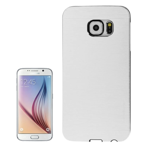 For Samsung Galaxy S6 / G920 Brushed Texture Protective Case, Silver