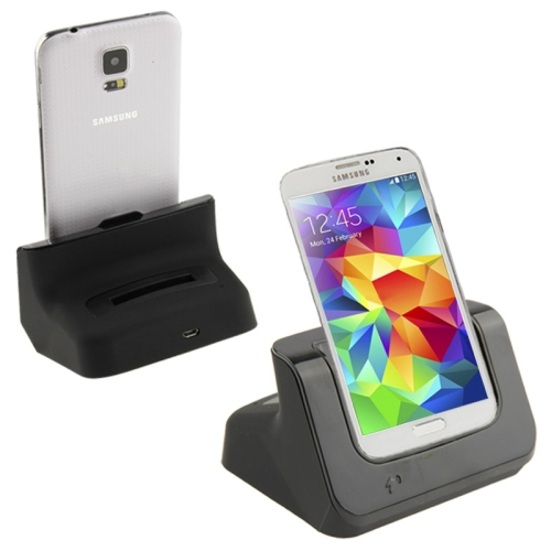Buy 2 in 1 (Dock Charger + Extra Battery Charger) USB Charging Cradle for Samsung Galaxy S5 / G900, Black for $6.60 in SUNSKY store