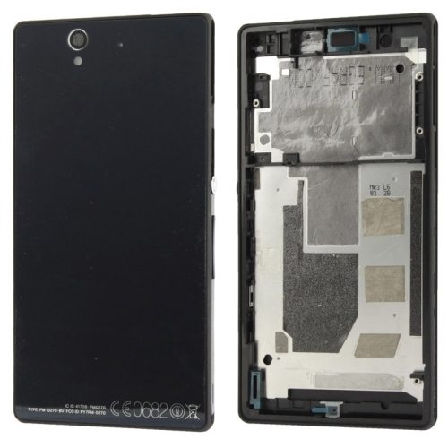 Buy Middle Board + Battery Back Cover for Sony L36H, Black for $7.49 in SUNSKY store