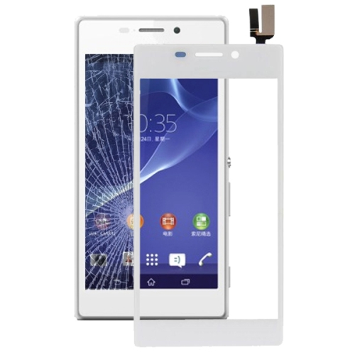 Touch Panel Part for Sony Xperia M2 / S50h(White)