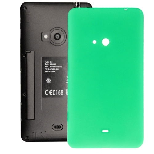 Original Housing Battery Back Cover with Side Button for Nokia Lumia 625 (Green)