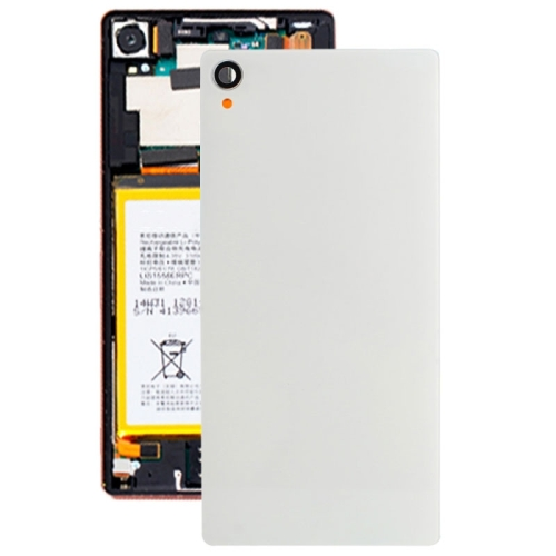 Buy Original Glass Housing Back Cover for Sony Xperia Z3 / D6653, White for $1.75 in SUNSKY store
