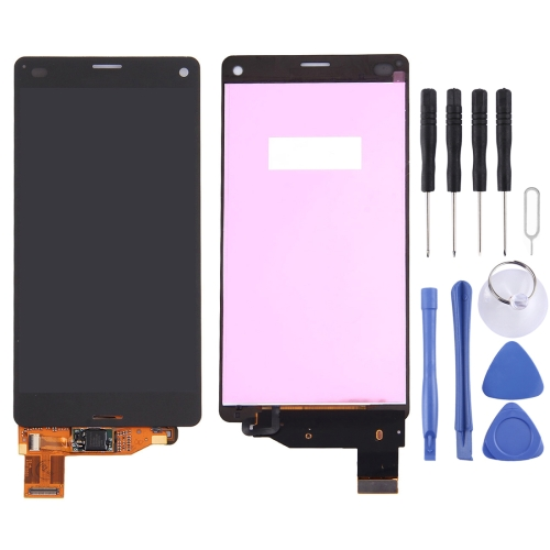 LCD Display + Touch Panel Replacement for Sony Xperia Z3 Compact / M55W / Z3 mini(Black)