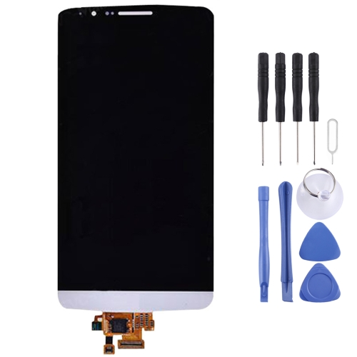 Buy iPartsBuy Original LCD Screen + Touch Screen Digitizer Assembly for LG G3 / D850 / D851 / D855, White for $31.79 in SUNSKY store