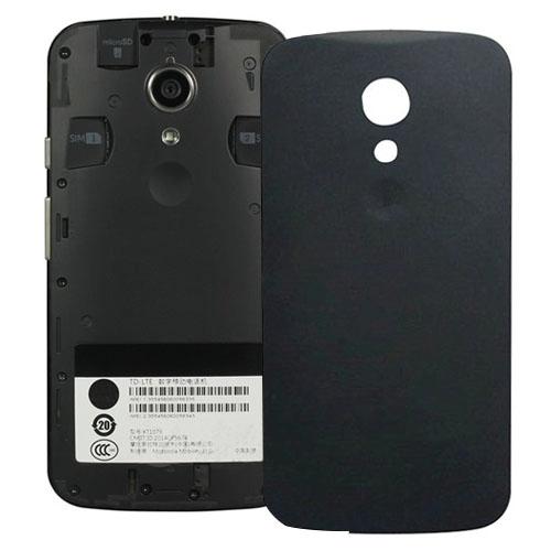 Battery Back Cover for Motorola Moto G (2nd Gen) XT1063 / XT1068 / XT1069(Black)