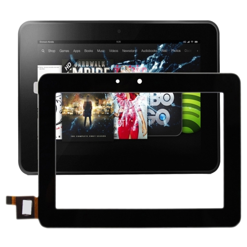Touch Panel Replacement for Amazon Kindle Fire HD 7(Black)