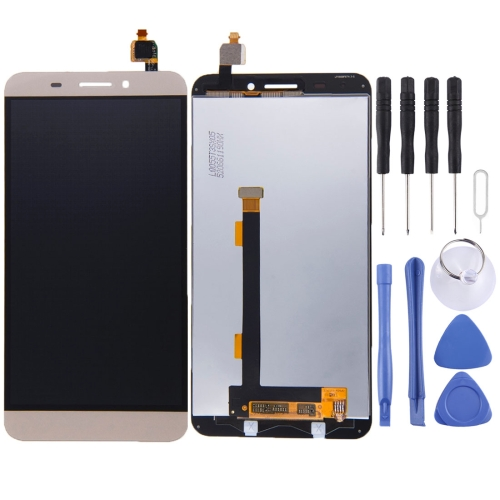 Buy iPartsBuy LCD Screen + Touch Screen Digitizer Assembly for Letv Le One / X600, Gold for $17.98 in SUNSKY store