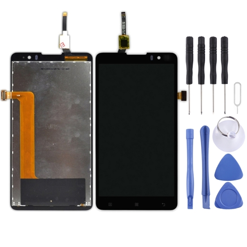 Buy iPartsBuy LCD Display + Touch Screen Digitizer Assembly Replacement for Lenovo Golden Warrior S8 / S898t, Black for $21.00 in SUNSKY store