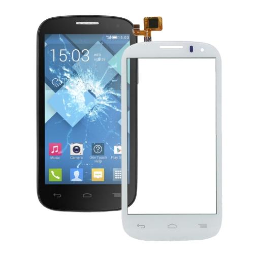 Touch Panel Replacement for Alcatel One Touch Pop C5 Dual / 5036D(White)