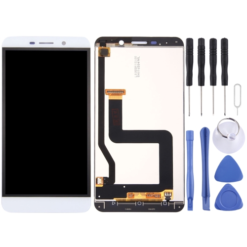 LCD Screen and Digitizer Full Assembly for Letv Le One Pro / X800(White)