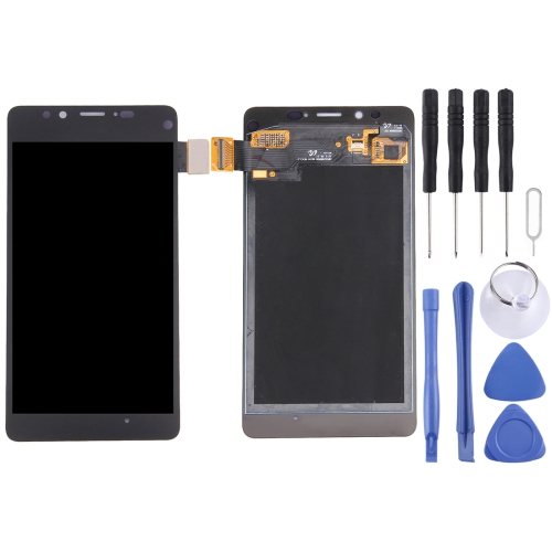 Buy iPartsBuy for Microsoft Lumia 950 LCD Display + Touch Screen Digitizer Assembly, Black for $50.61 in SUNSKY store