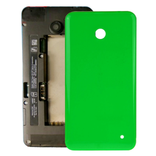 Buy iPartsBuy for Nokia Lumia 635 Housing Battery Back Cover + Side Button, Green for $1.46 in SUNSKY store