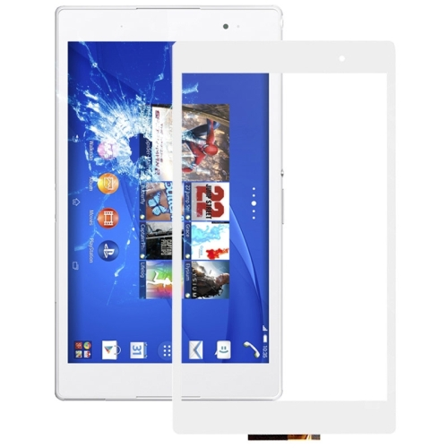 Touch Panel Replacement for Sony Xperia Z3 Tablet Compact / SGP612 / SGP621 / SGP641(White)