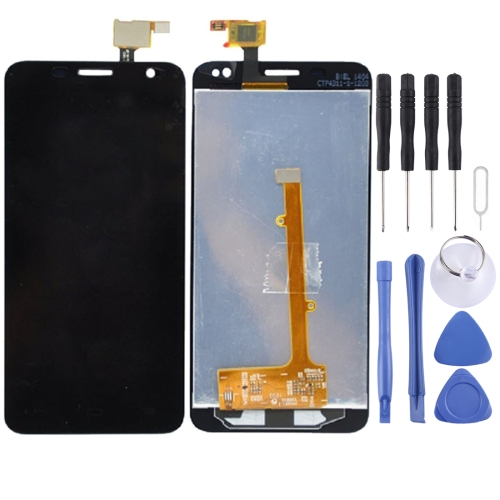 LCD Screen and Digitizer Full Assembly for Alcatel One Touch Idol mini / OT6012 / 6012 / 6012A / 6012D / 6012W / 6012X(Black)