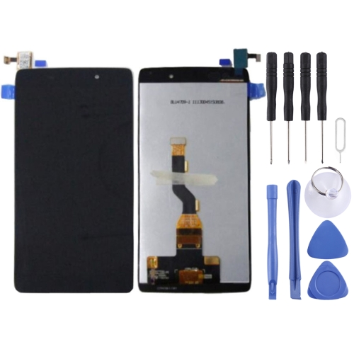 LCD Screen and Digitizer Full Assembly for Alcatel One Touch Idol 3 / OT-6039 / OT6039 / 6039(Black)
