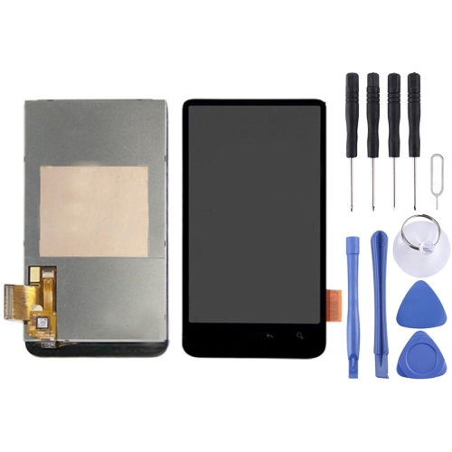 Buy iPartsBuy LCD Display + Touch Screen Digitizer Assembly Replacement for HTC Desire HD / G10 for $15.31 in SUNSKY store
