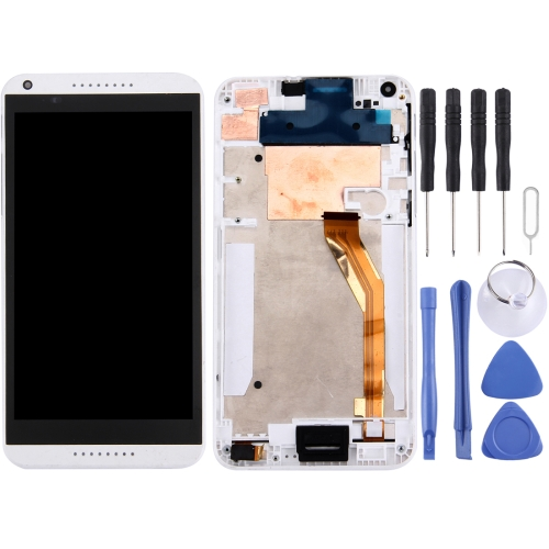 Buy iPartsBuy LCD Display + Touch Screen Digitizer Assembly with Frame Replacement for HTC Desire 816, White for $20.44 in SUNSKY store