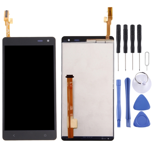 Buy iPartsBuy LCD Display + Touch Screen Digitizer Assembly Replacement for HTC Desire 600, Black for $16.42 in SUNSKY store