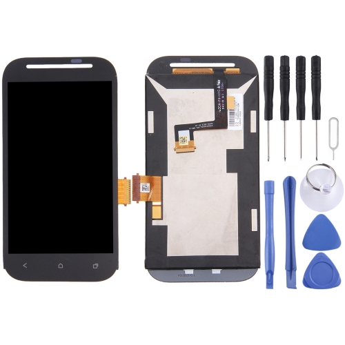 iPartsBuy LCD Display + Touch Screen Digitizer Assembly with Frame Replacement for HTC Desire SV / T326e