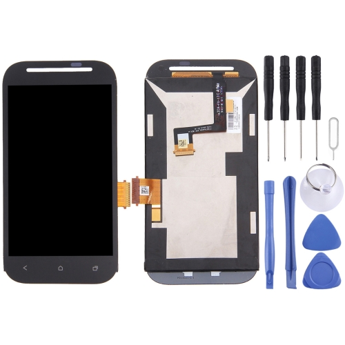 Buy iPartsBuy LCD Display + Touch Screen Digitizer Assembly Replacement for HTC Desire SV / T326e / T326h, Black for $17.52 in SUNSKY store
