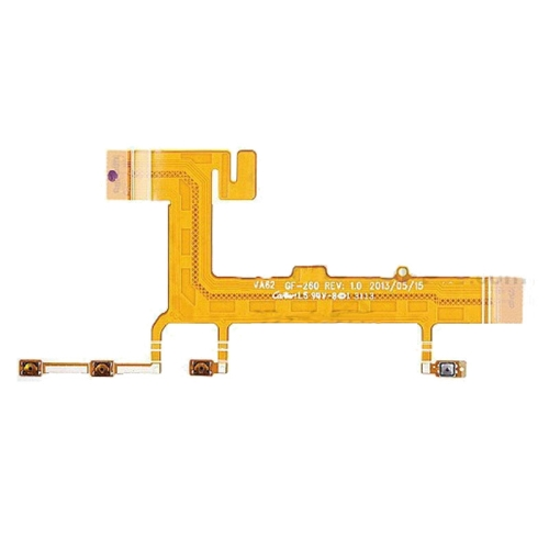 Power Button & Volume Button Side Keys Flex Cable Ribbon Replacement Parts for Nokia Lumia 625