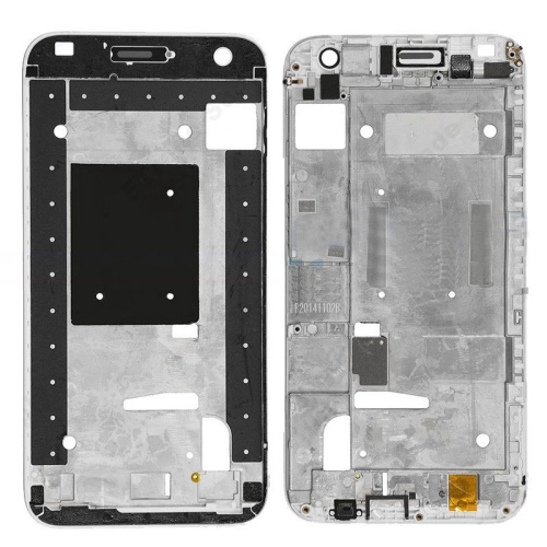 Front Housing Screen Frame Bezel for Huawei Ascend G7(Black)