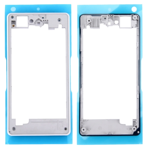 Rear Housing Frame Replacement for Sony Xperia Z1 Compact / D5503(White)